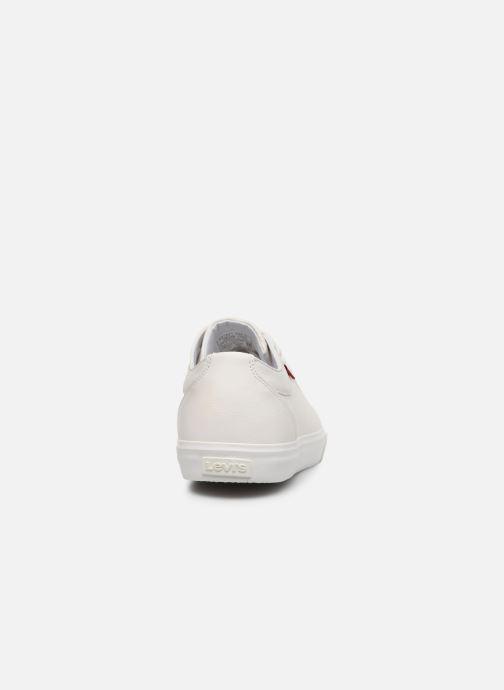 Baskets Levi's Woodward Blanc vue droite