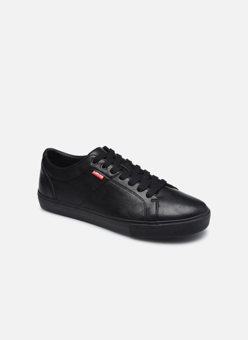 Sneakers Levi's Woodward Sort detaljeret billede af skoene