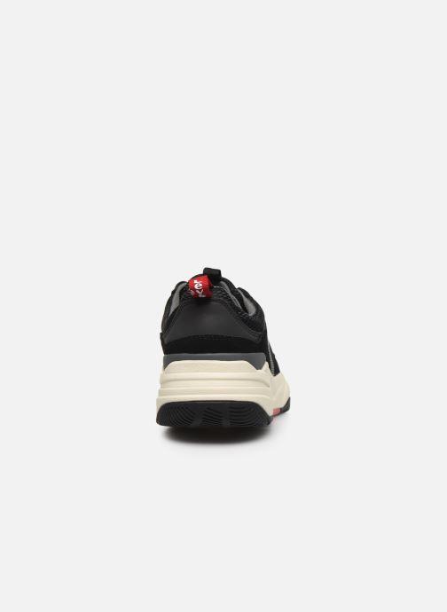 Baskets Levi's Eastman Noir vue droite