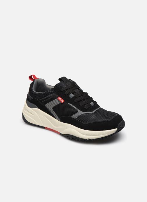 Sneakers Levi's Eastman Sort detaljeret billede af skoene