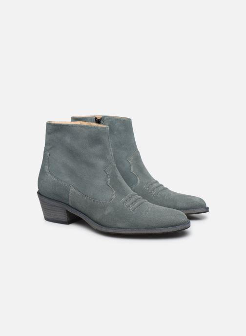 Stiefeletten & Boots Free Lance JANE 5 WEST ZIP BOOT blau 3 von 4 ansichten