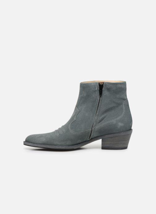 Stiefeletten & Boots Free Lance JANE 5 WEST ZIP BOOT blau ansicht von vorne