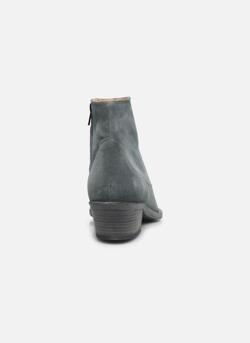 Stiefeletten & Boots Free Lance JANE 5 WEST ZIP BOOT blau ansicht von rechts