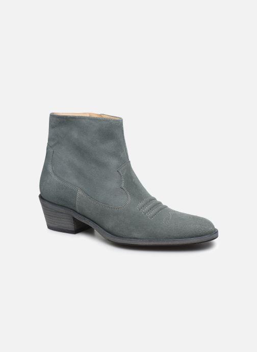 Stiefeletten & Boots Free Lance JANE 5 WEST ZIP BOOT blau detaillierte ansicht/modell