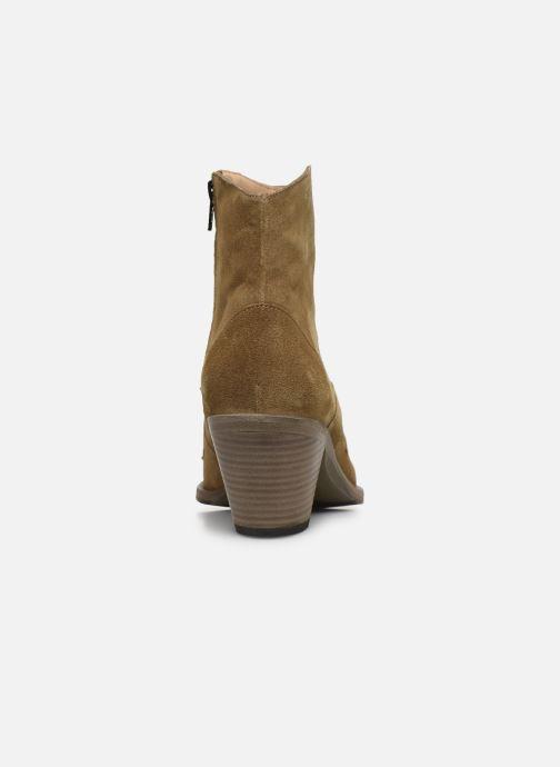 Bottines et boots Free Lance JANE 7 WESTERN ZIP BOOT Beige vue droite