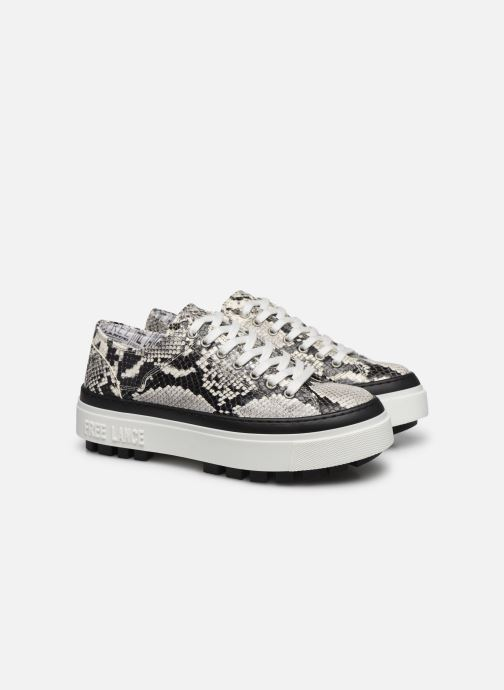 Sneakers Free Lance NAKANO LOW TOP SNEAKER Beige immagine 3/4