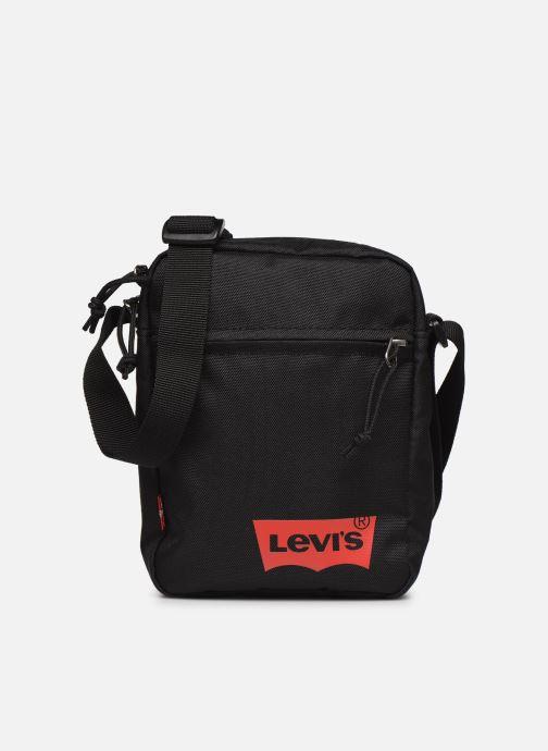 Bolsos de mano Levi's Mini Crossbody Solid (Red Batwing) Negro vista de detalle / par
