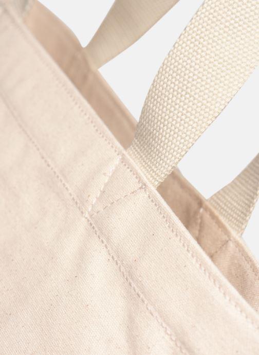 Handtaschen Levi's Batwing Tote W weiß ansicht von links