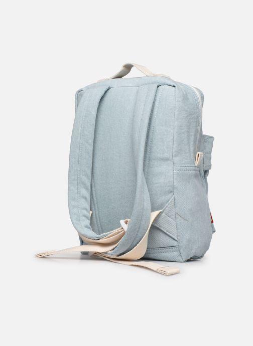 Sacs à dos Levi's The Levi'S® L Pack Baby - Iced Denim Bleu vue droite