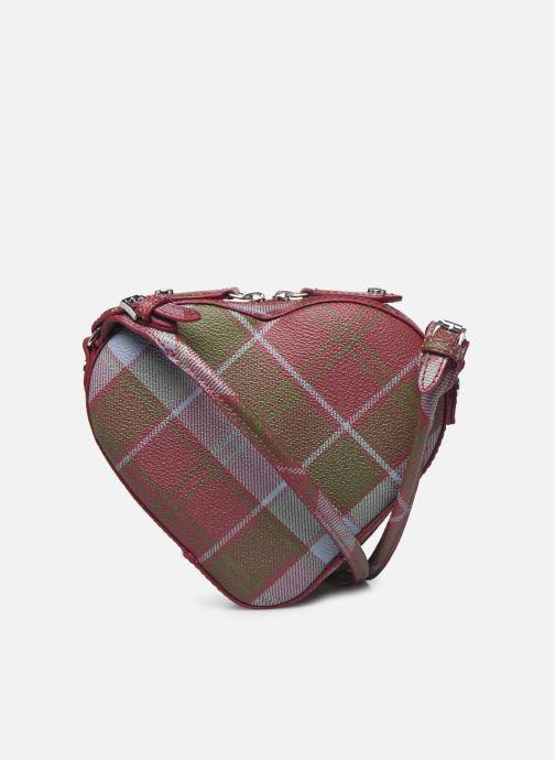 Sacs à main Vivienne Westwood Derby Heart Crossbody Bag Multicolore vue face