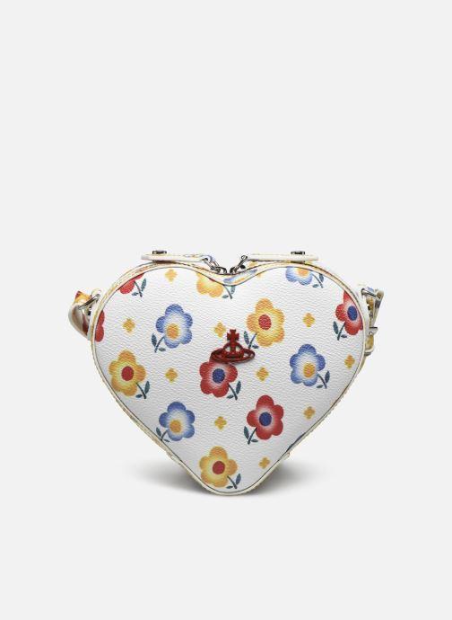Sacs à main Vivienne Westwood Derby Heart Crossbody Bag Blanc vue détail/paire