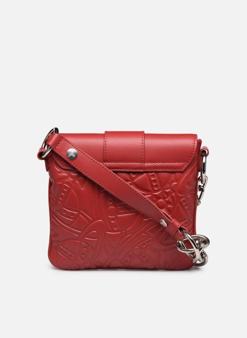 Sacs à main Vivienne Westwood Alexa Small Handbag Rouge vue face