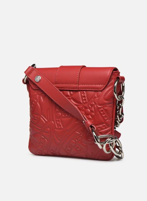 Sacs à main Vivienne Westwood Alexa Small Handbag Rouge vue droite