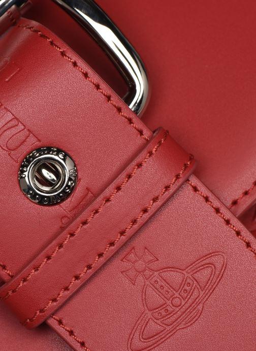Sacs à main Vivienne Westwood Alexa Small Handbag Rouge vue gauche