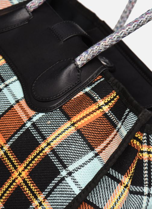Sacs à main Vivienne Westwood Elena Folded Shopper Multicolore vue gauche