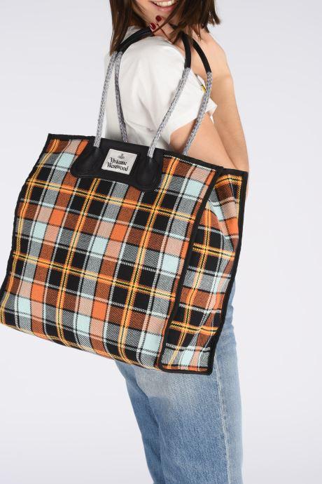 Sacs à main Vivienne Westwood Elena Folded Shopper Multicolore vue bas / vue portée sac