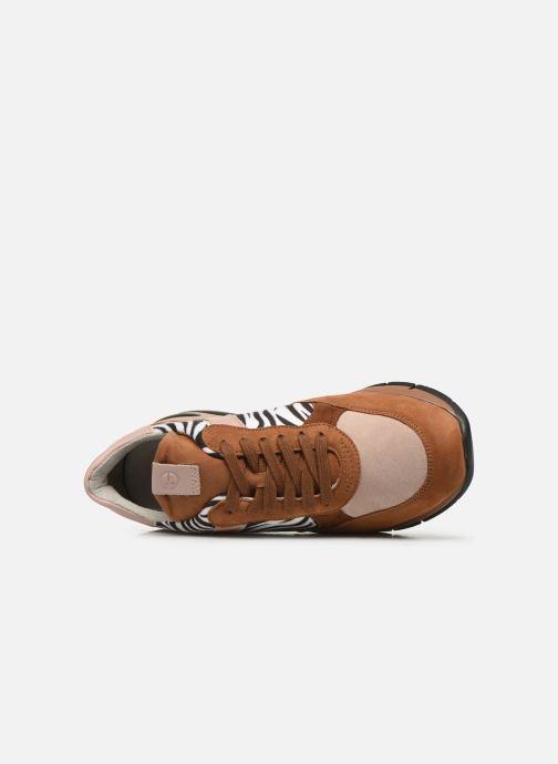 Sneaker Tamaris MAUD braun ansicht von links