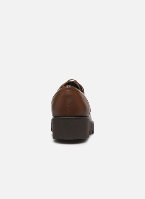 Zapatos con cordones Bluegenex B-Gote Blucher Marrón vista lateral derecha