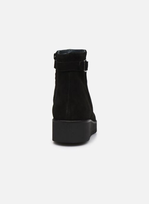 Bottines et boots Bluegenex B-Gote Correa Noir vue droite