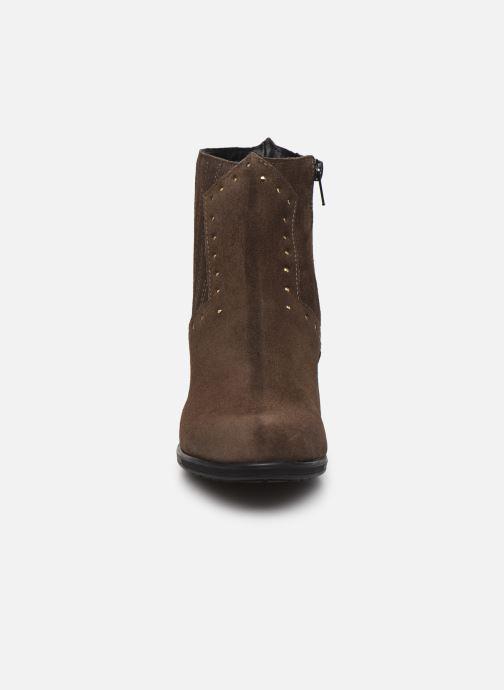 Bottines et boots Bluegenex B-Melbour Marron vue portées chaussures