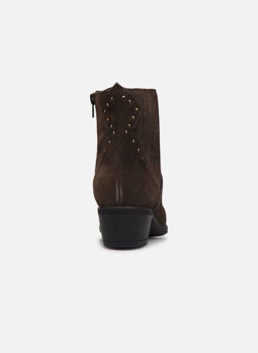 Bottines et boots Bluegenex B-Melbour Marron vue droite