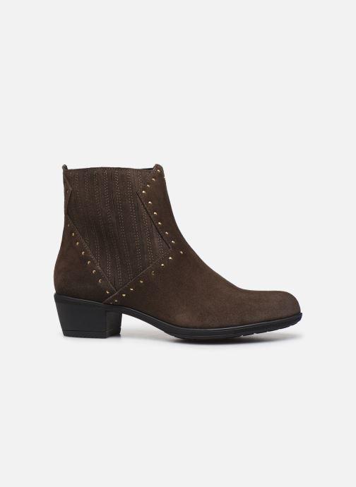 Boots en enkellaarsjes Bluegenex B-Melbour Bruin achterkant