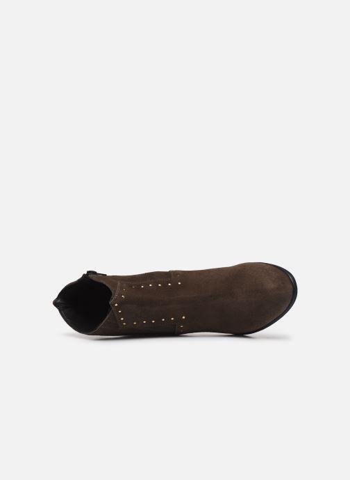Boots en enkellaarsjes Bluegenex B-Melbour Bruin links
