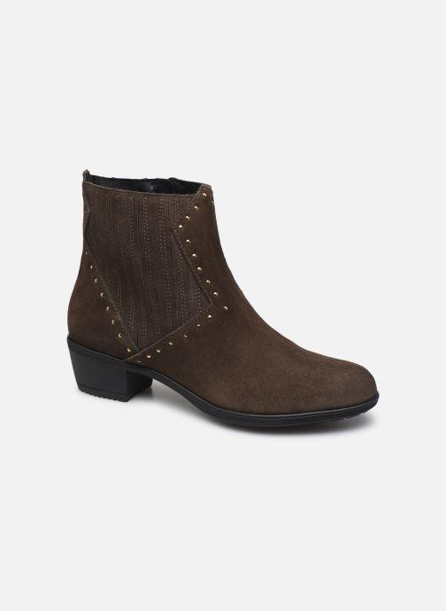 Ankelstøvler Bluegenex B-Melbour Brun detaljeret billede af skoene