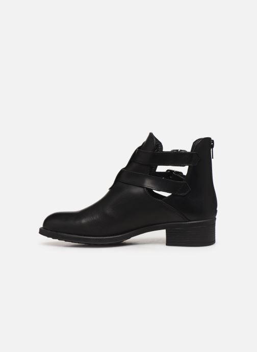 Bottines et boots Bluegenex B-Oxford 474 Noir vue face