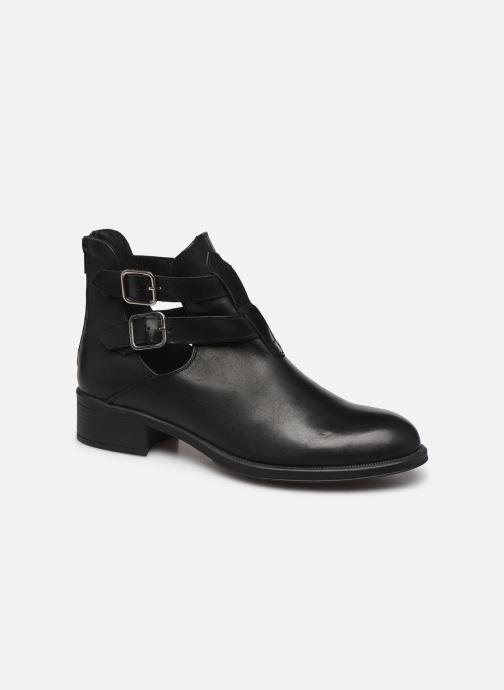 Bottines et boots Bluegenex B-Oxford 474 Noir vue détail/paire
