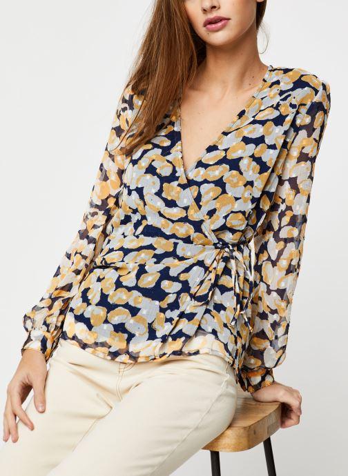 Vêtements Accessoires OBJINGRID L/S WRAP TOP 107