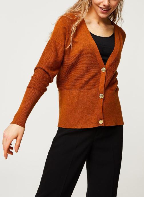 Gilet - Objzonja L/S Knit Cardigan Pb7