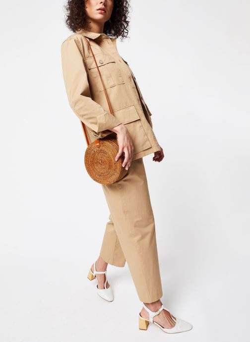 Vêtements OBJECT OBJWELA BLAZER 107 Marron vue bas / vue portée sac