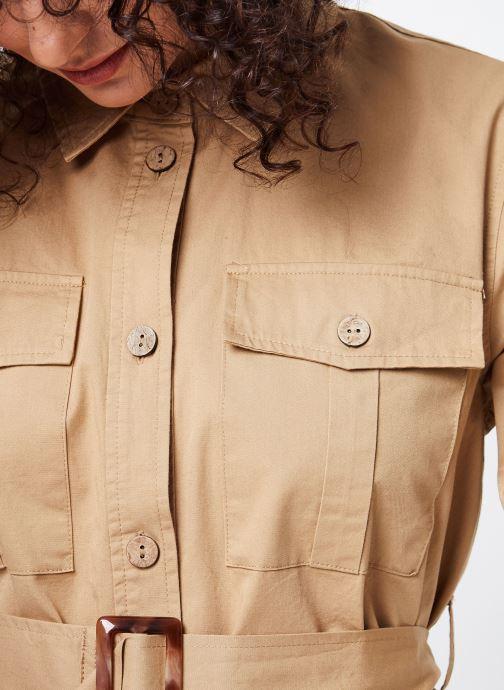 Vêtements OBJECT OBJWELA BLAZER 107 Marron vue face