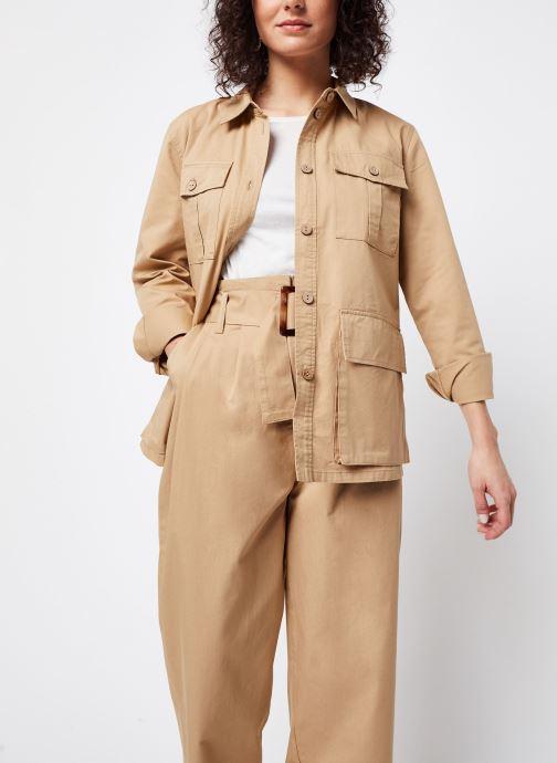 Vêtements OBJECT OBJWELA BLAZER 107 Marron vue détail/paire