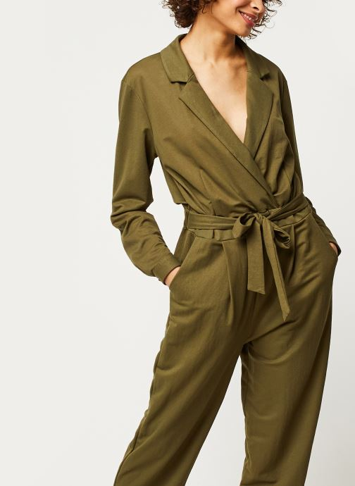 Vêtements OBJECT OBJTHELMA JUMPSUIT 107 Vert vue détail/paire