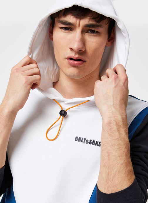Only & Sons Onsbalou Reg Hoodie Sweat - Blanc (bright White)