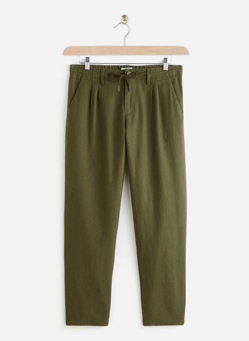 Kleding Only & Sons Onsleo Linen Pants Groen detail