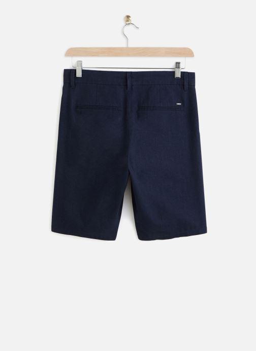 Kleding Only & Sons Onslou Linen Shorts Blauw onder