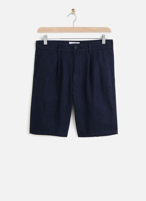 Kleding Only & Sons Onslou Linen Shorts Blauw detail