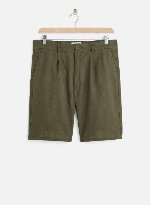 Kleding Only & Sons Onslou Linen Shorts Groen detail