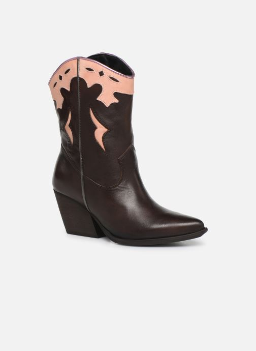 Bottines et boots Bullboxer 329501E7L Marron vue détail/paire