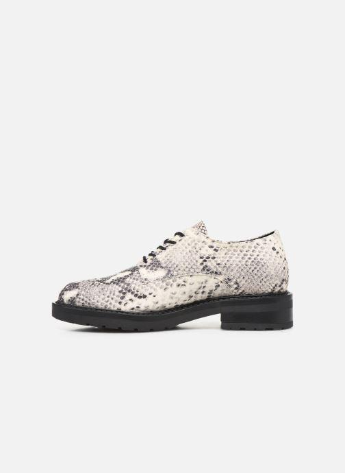 Chaussures à lacets Bullboxer 333000E5L Gris vue face