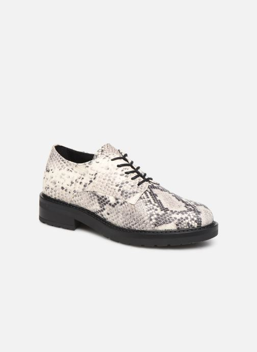 Chaussures à lacets Bullboxer 333000E5L Gris vue détail/paire