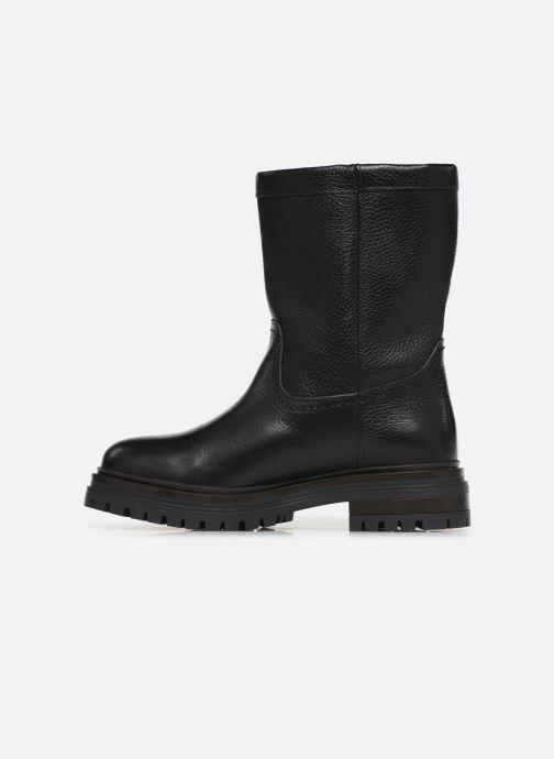 Boots en enkellaarsjes Bullboxer 391M76139 Zwart voorkant