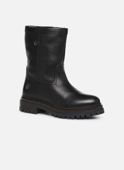 Boots en enkellaarsjes Bullboxer 391M76139 Zwart detail