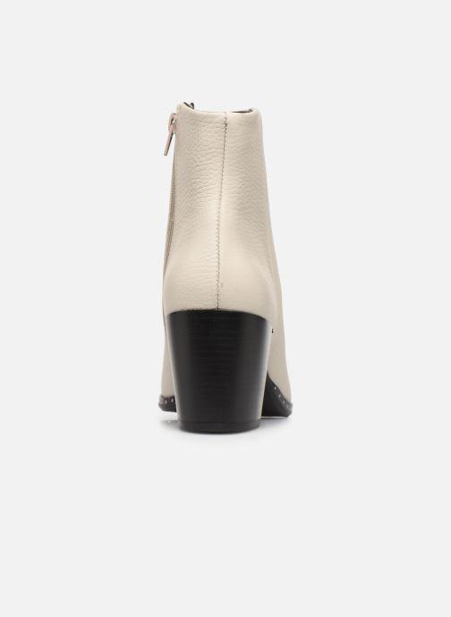 Bottines et boots Bullboxer 453516E6L Blanc vue droite