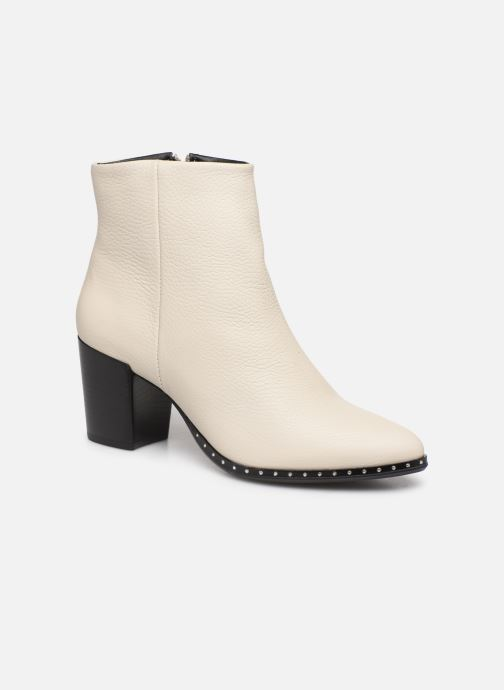 Bottines et boots Bullboxer 453516E6L Blanc vue détail/paire