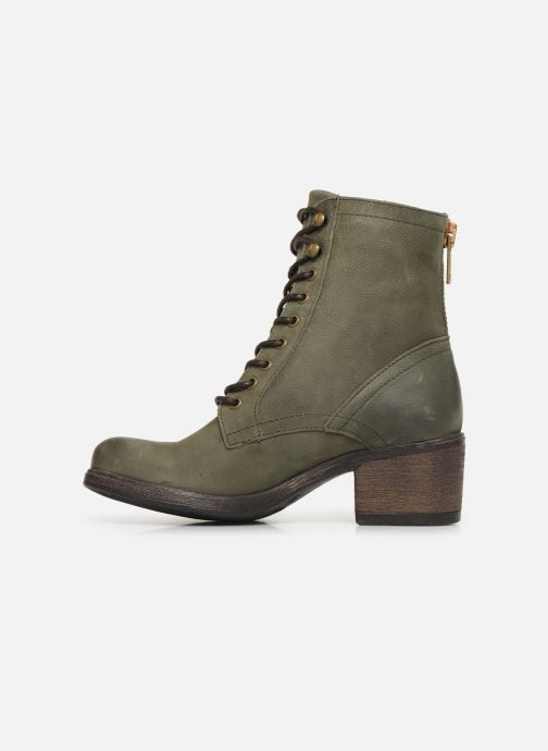 Ankle boots Bullboxer 490508E6L Green front view
