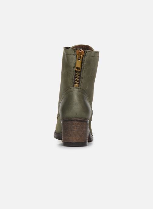 Ankle boots Bullboxer 490508E6L Green view from the right